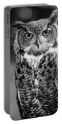 Great Horned Owl Bw IIi Portable Battery Charger