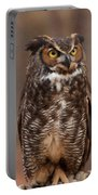Great Horned Owl Digital Oil Portable Battery Charger
