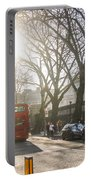 Great Russell St. In The Afternoon Portable Battery Charger
