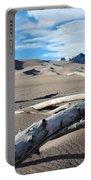 Great Sand Dunes National Park Driftwood Landscape Portable Battery Charger