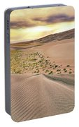Great Sand Dunes Sunset - Colorado - Landscape Portable Battery Charger