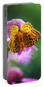 Great Spangled Fritillary Butterfly Portable Battery Charger