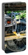 Great Western 90 Wheel Closeup Portable Battery Charger