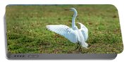 Great White Egret Ahoy Portable Battery Charger