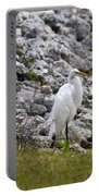 Great White Heron Race Portable Battery Charger