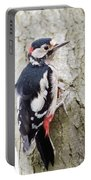 Greater Spotted Woodpecker Portable Battery Charger