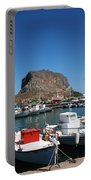 Greece Island Harbor Portable Battery Charger