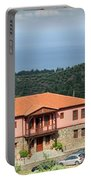 Greece Summer Vacation Landscape Portable Battery Charger