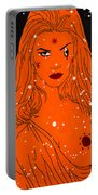 Greek Goddess In The Sky Portable Battery Charger