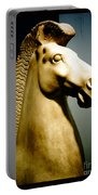 Greek Horse Statue Portable Battery Charger