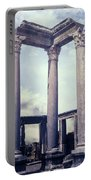 Greek Temple Portable Battery Charger
