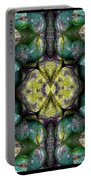 Green And Blue Stones 3 Portable Battery Charger