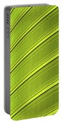 Green And Yellow Building Abstract Portable Battery Charger