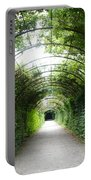 Green Arbor Of Mirabell Garden Portable Battery Charger