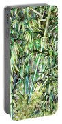 Green Bamboo Tree Portable Battery Charger