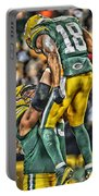 Green Bay Packers Team Art Portable Battery Charger