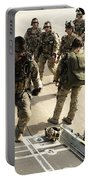 Green Berets Board A C-130h3 Hercules Portable Battery Charger