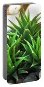 Green Cactus Portable Battery Charger