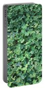 Green Clovers Portable Battery Charger