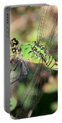 Green Dragonfly Macro Portable Battery Charger