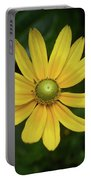 Green Eyed Daisy Portable Battery Charger