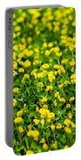 Green Field Of Yellow Flowers 2 1 Portable Battery Charger