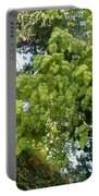 Green Fizalis Plant Portable Battery Charger