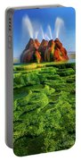 Green Fly Geyser Portable Battery Charger