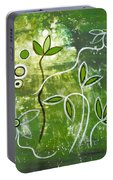 Green Growth Portable Battery Charger