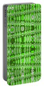 Green Heavy Screen Abstract Portable Battery Charger
