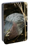 Green Heron Hunting Portable Battery Charger