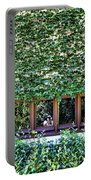 Green Ivy Window  Portable Battery Charger