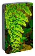 Green Leaf Portable Battery Charger
