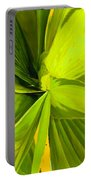 Green Mosaic Portable Battery Charger