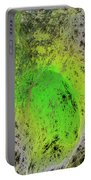 Green On Center Stage Portable Battery Charger by Deborah Benoit