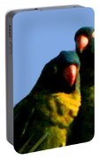 Green Parrot Portable Battery Charger