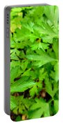 Green Parsley  4 Portable Battery Charger