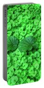 Green Plants Portable Battery Charger