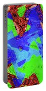 Green Red And Blue Melody Panel Abstract Portable Battery Charger