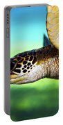 Green Sea Turtle Portable Battery Charger