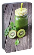 Green Smoothie Portable Battery Charger