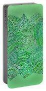Green Spiral Portable Battery Charger