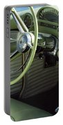Green Thunderbird Wheel And Front Seat Portable Battery Charger