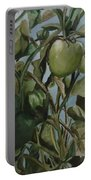 Green Tomatoes On The Vine Portable Battery Charger