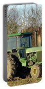 Green Tractor Portable Battery Charger