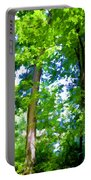 Green Trees 1 Portable Battery Charger