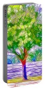 Green Trees By The Water  5 Portable Battery Charger