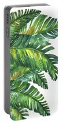 Green Tropic  Portable Battery Charger
