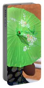 Green Western Day Portable Battery Charger
