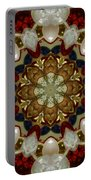Green White Red Blue Kaleidoscope 1 Portable Battery Charger
